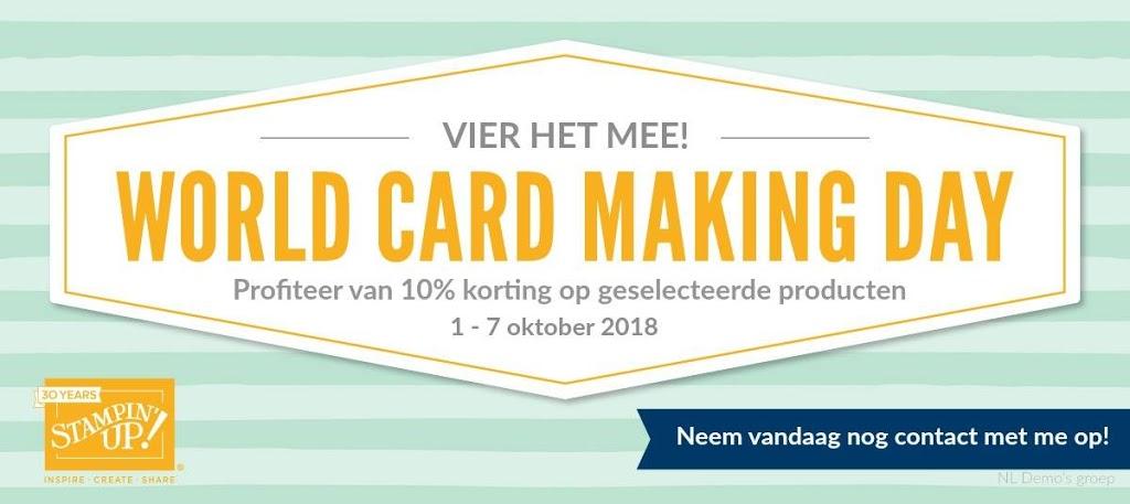 Actie World Card Making Day