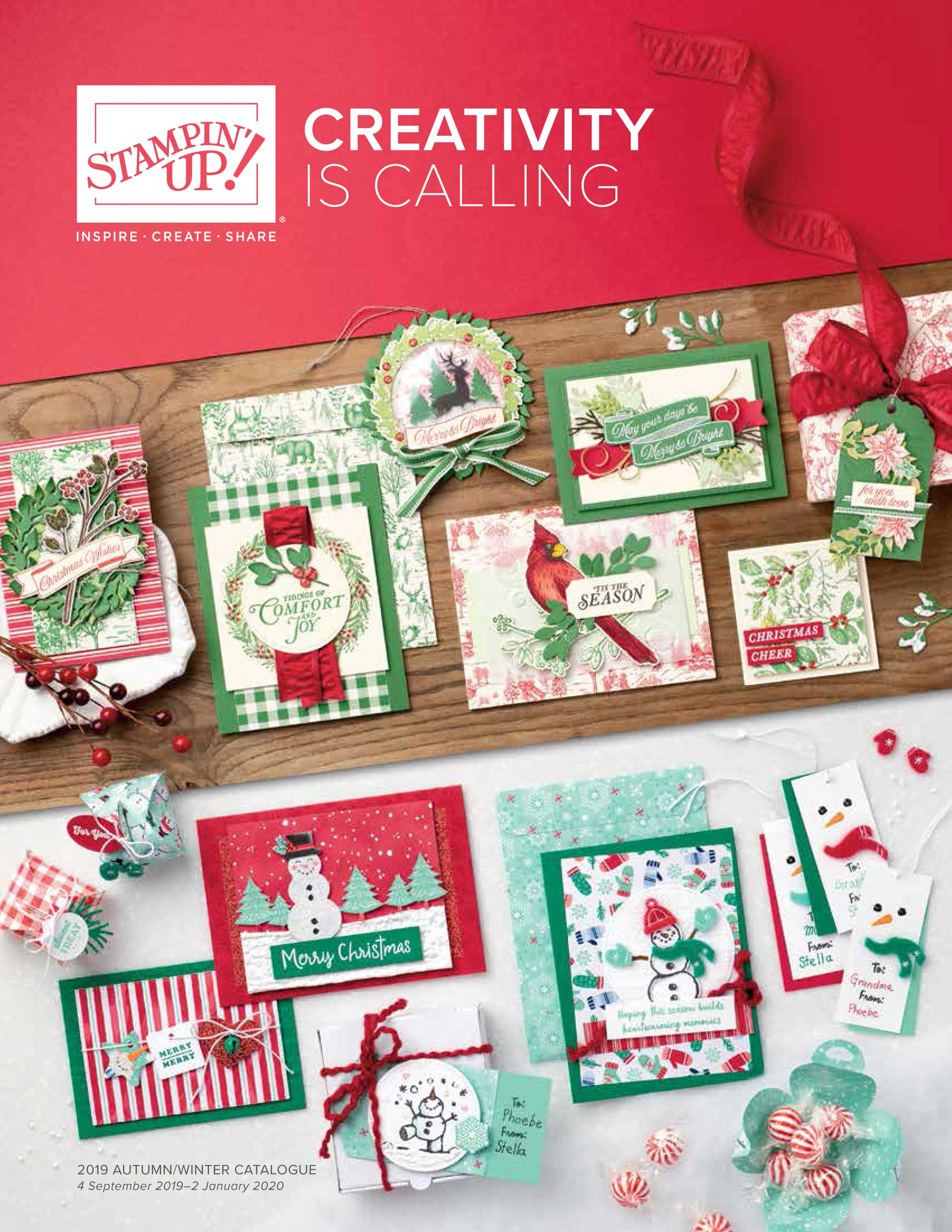 Stampin' Up! wintercatalogus 2019